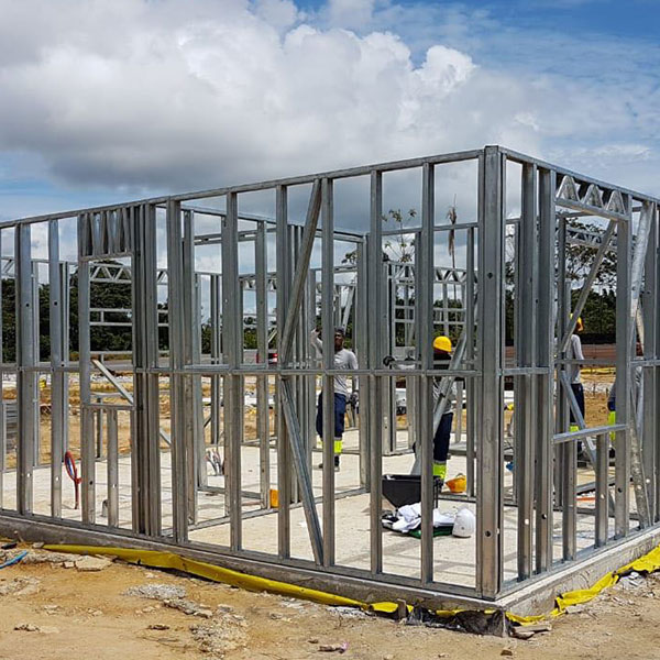 Chantier Macouria Guyane - assemblage final